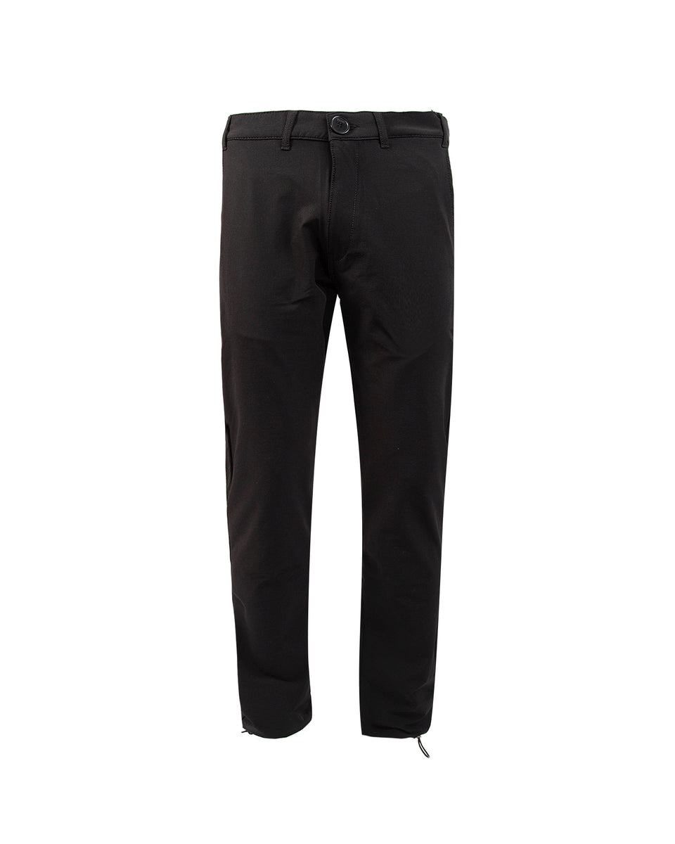 MARAI Bi Stretch Technical Plain Pants - Black