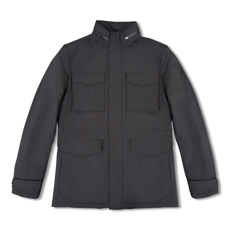 J.Lindeberg Tracer Tech Jacket - Black
