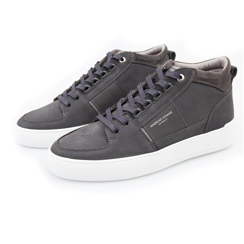 Android Homme Point Dume Nubuck Trainers - Grey Slate