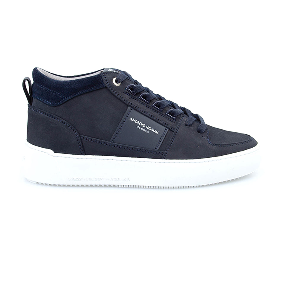Android Homme Point Dume Nubuck Trainers - Navy Ink