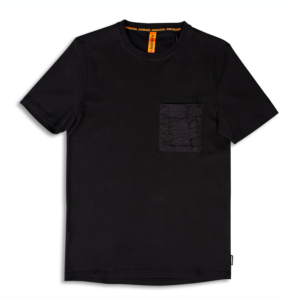 Raeburn Air Brake Pocket T-Shirt - Black