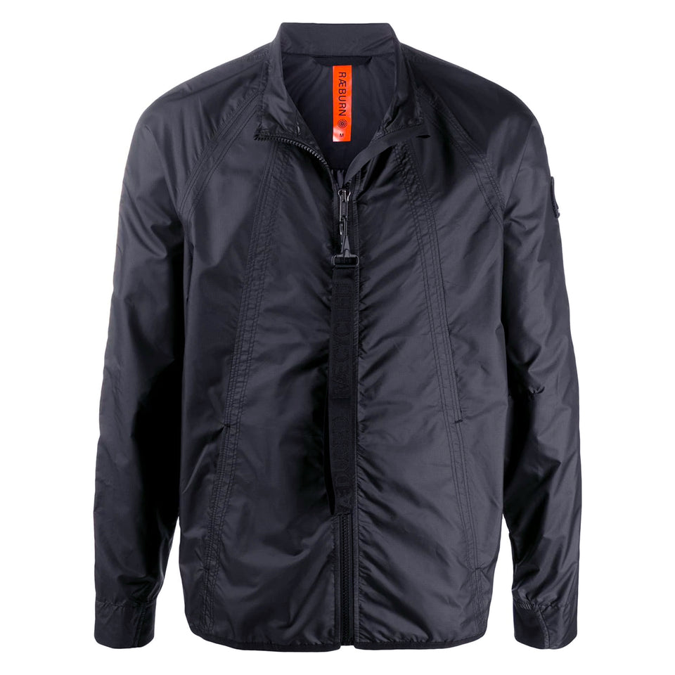 Raeburn Lightweight Collar Jacket - Navy