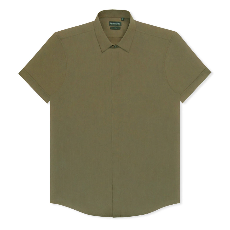 Antony Morato Slim Shirt - Army Green