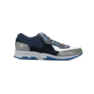 Navy/Grey Lanvin Cross Mesh Runners