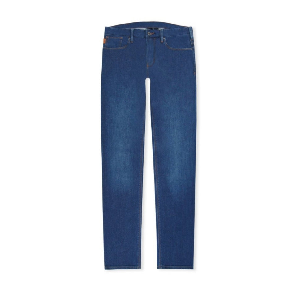Emporio Armani J45 Slim Jeans - Denim Blue
