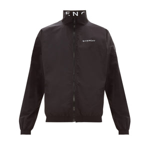 Givenchy Logo Track Jacket - Black