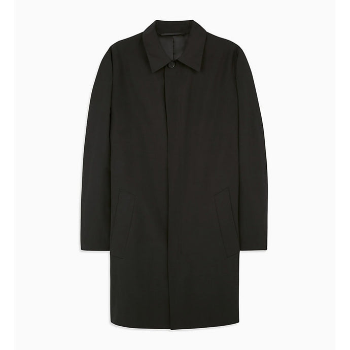 Calvin Klein Wadded Trench Coat - Black