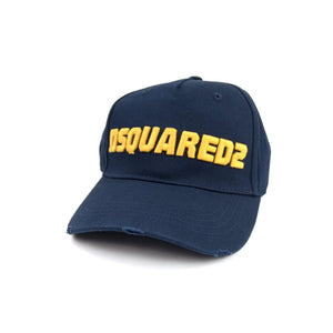Dsquared2 Logo Cap - Navy