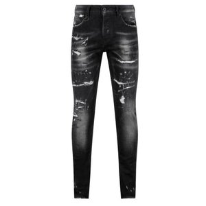 7TH HVN Ripped Jeans - Dark Grey