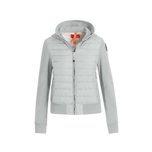 Women's Parajumpers Caelie Hooded Jacket - Illusion Blue