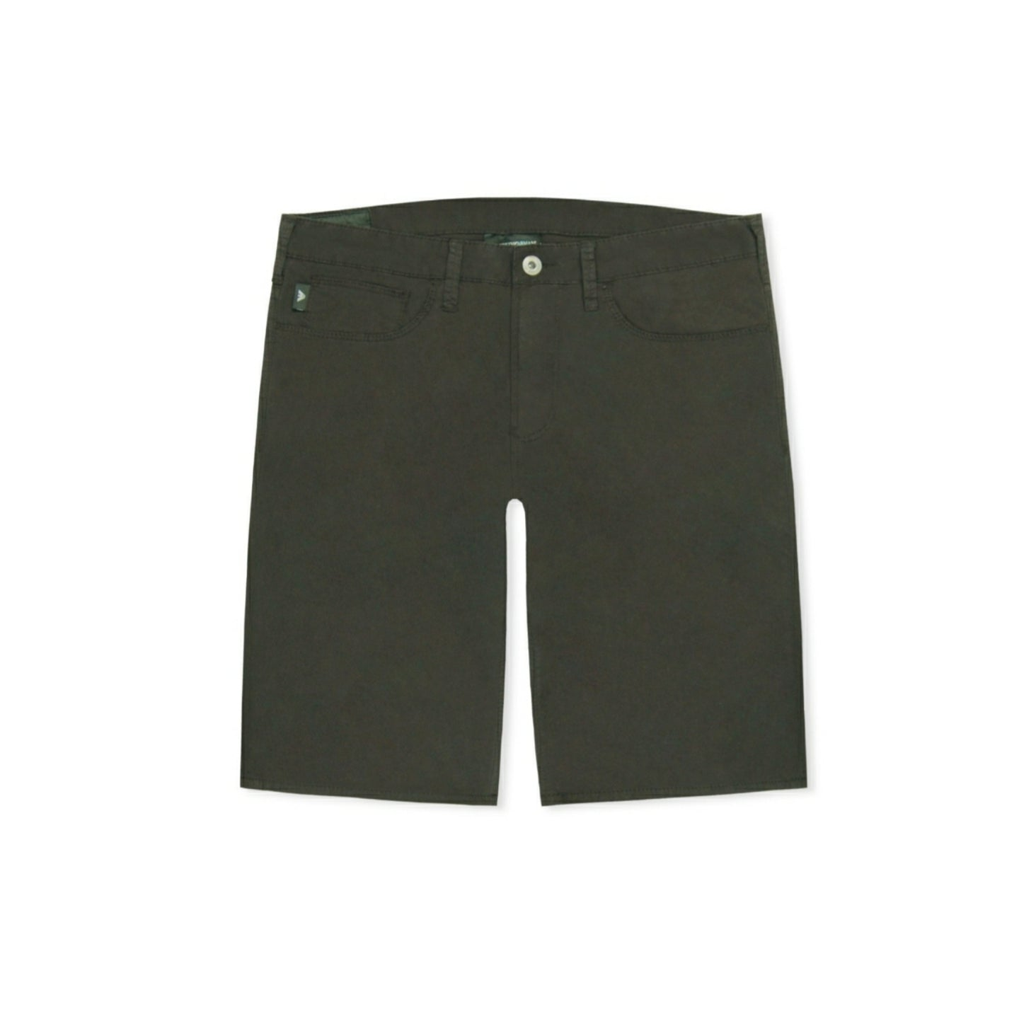 Emporio Armani Slim Chino Shorts - Black