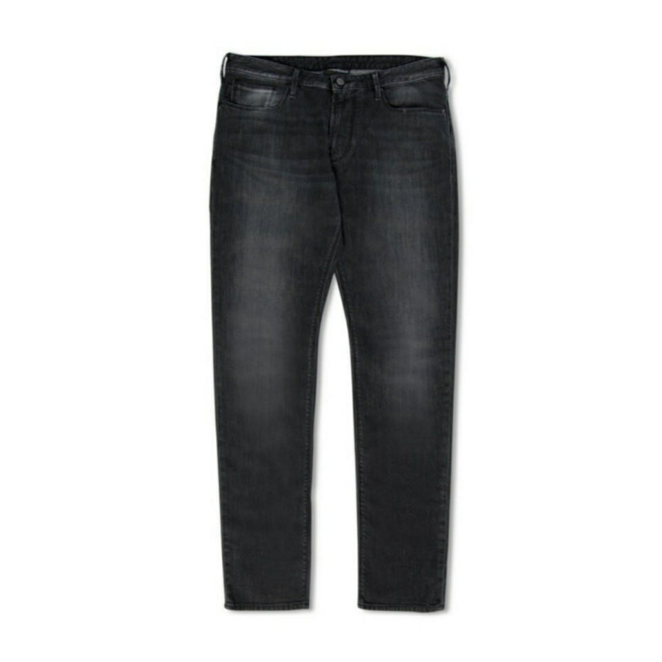 Emporio Armani J06 Slim-Fit Jeans - Dark Grey