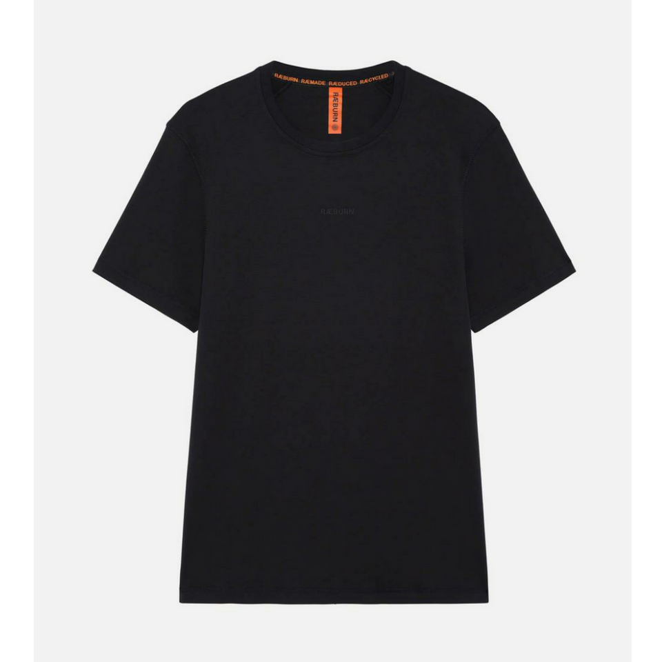 Raeburn Rubber Logo T-Shirt - Black