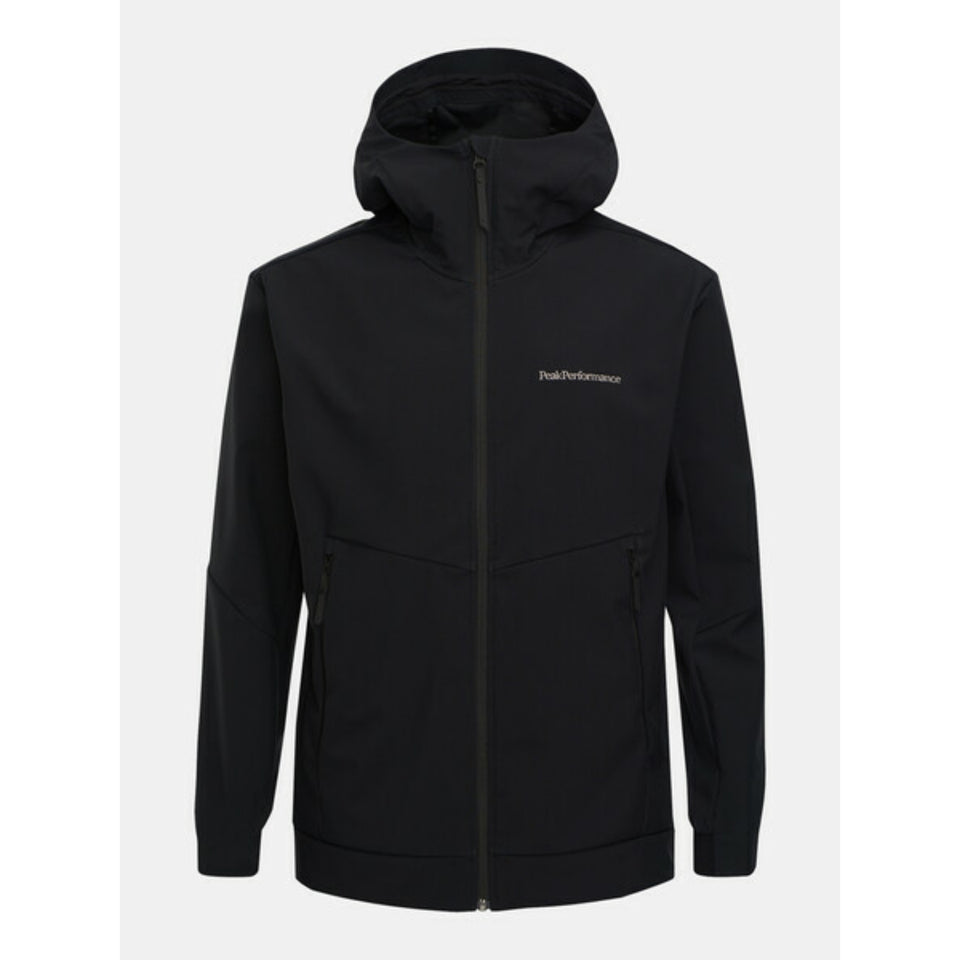 Peak Performance Adventure Hooded Jacket - Black
