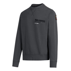 Parajumpers Printed Logo Sweatshirt - Pencil