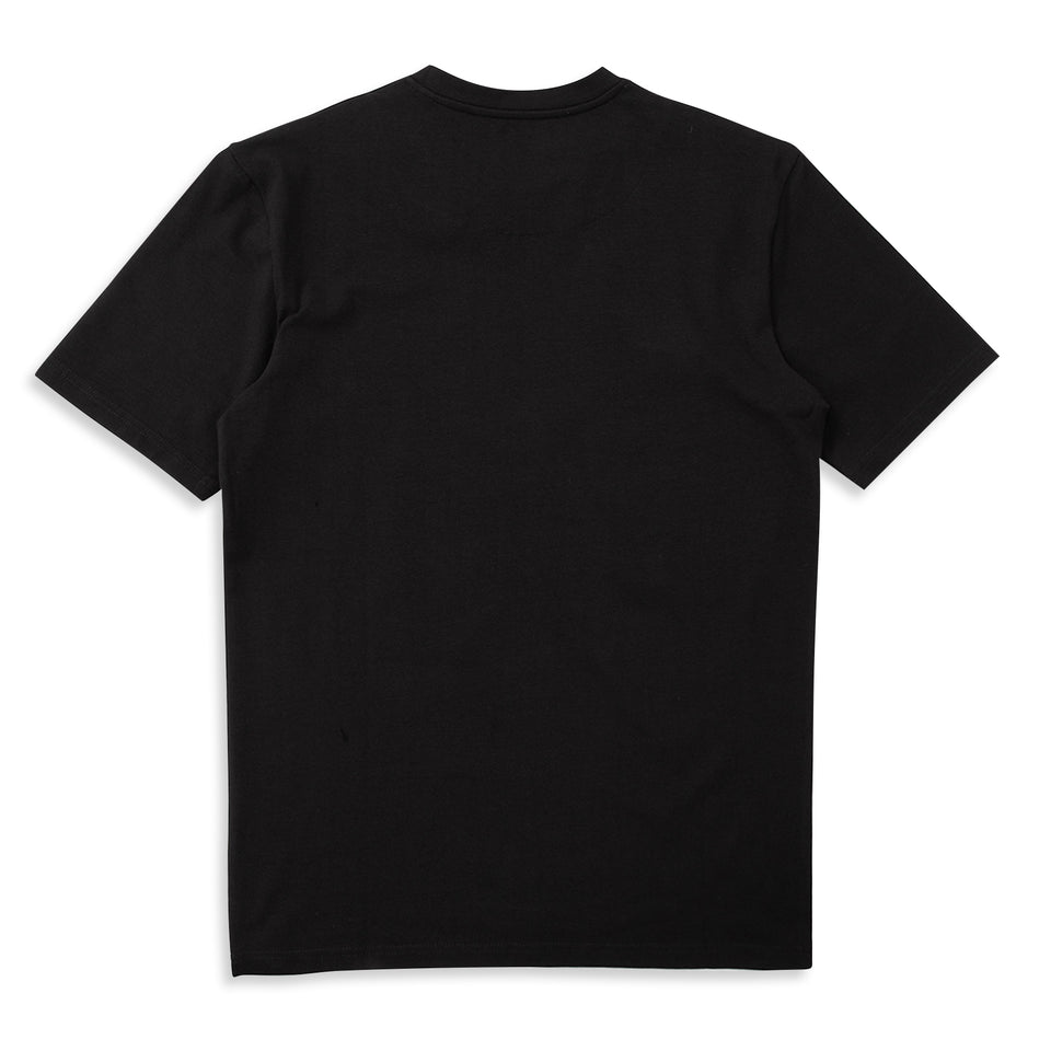 Untitled Atelier Abstract Wave T-Shirt - Black