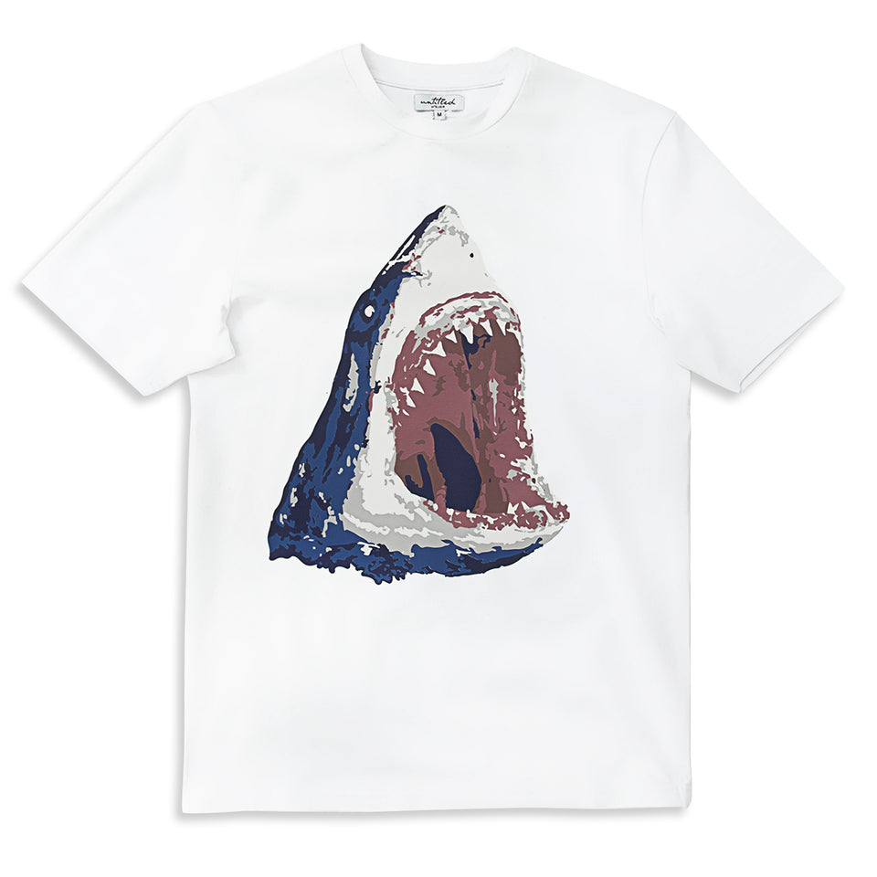 Untitled Atelier Shark T-Shirt - White