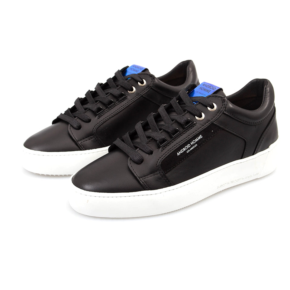 Android Homme Leather Venice Trainers - Black