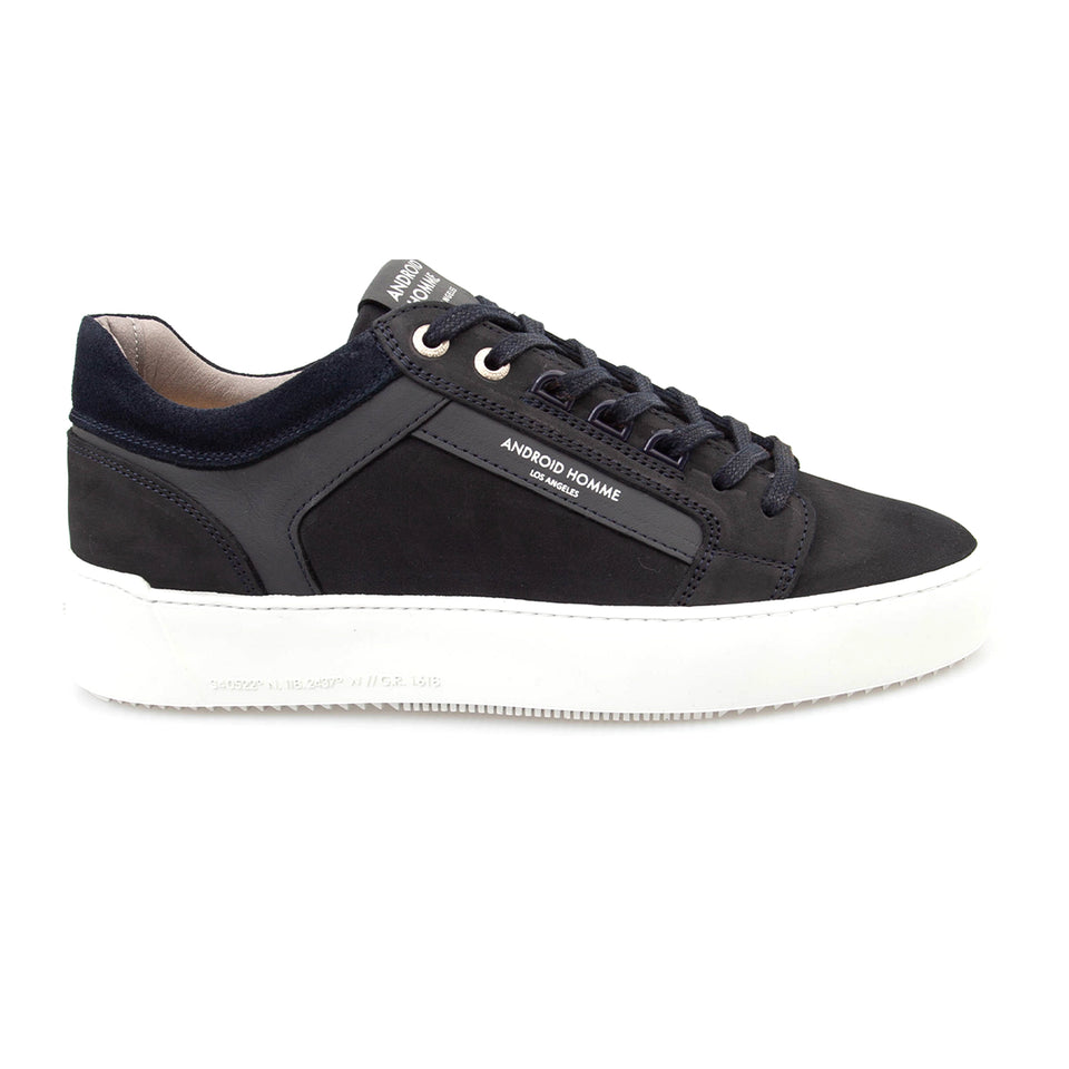 Android Homme Nubuck Venice Trainers - Navy Ink