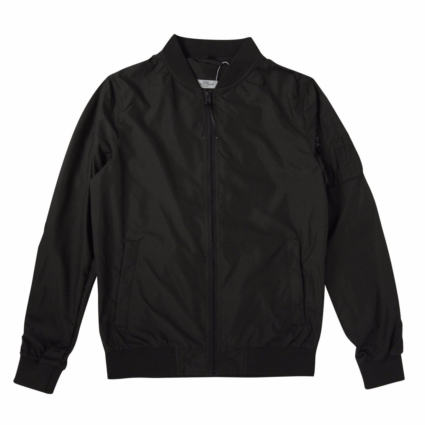 Untitled Atelier Bomber Jacket - Black