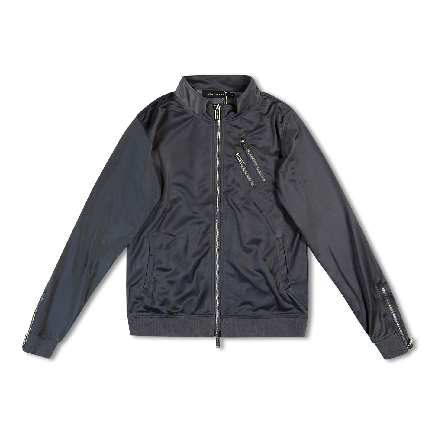 Grey Azat Mard Track Jacket