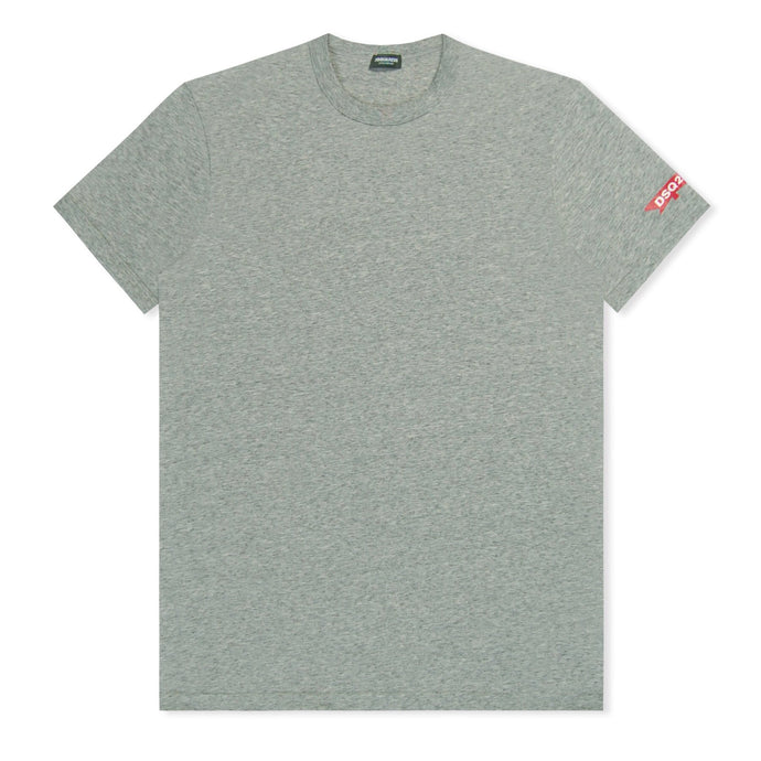 Grey Marl Dsquared2 Maple Sleeve T-Shirt