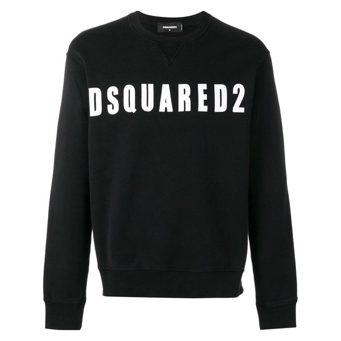 Black Dsquared2 Logo Sweatshirt