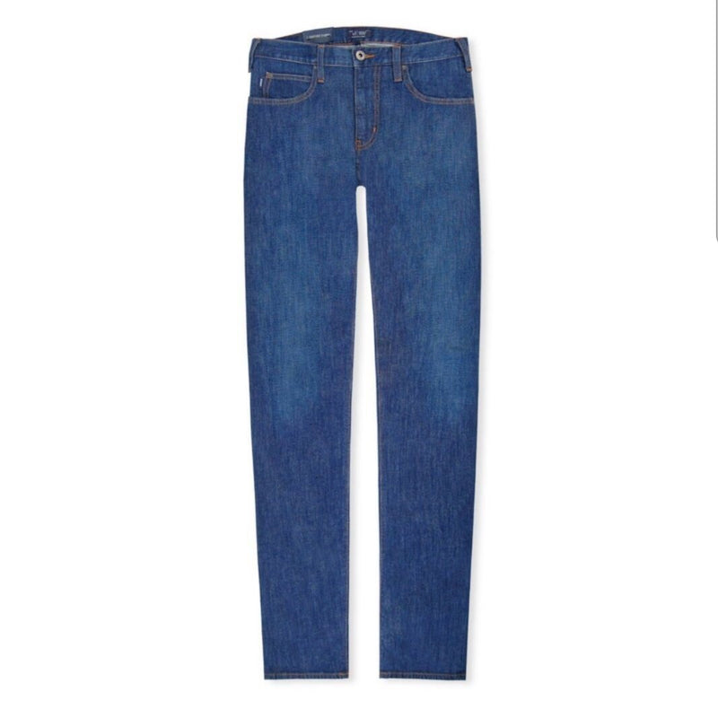 Blue Regular Jeans Mid Armani J45 Emporio tsQdhorBCx