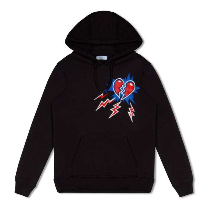 WMN Black Untitled Atelier Broken Heart Hoodie
