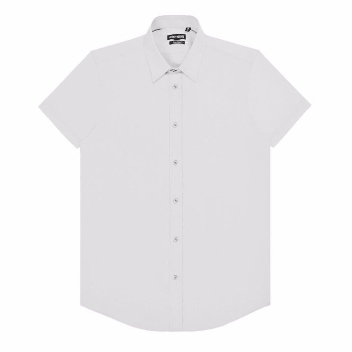 White Antony Morato Super Slim SS Shirt