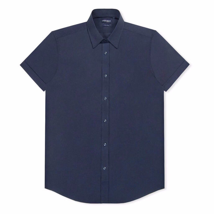 Navy Antony Morato Super Slim SS Shirt