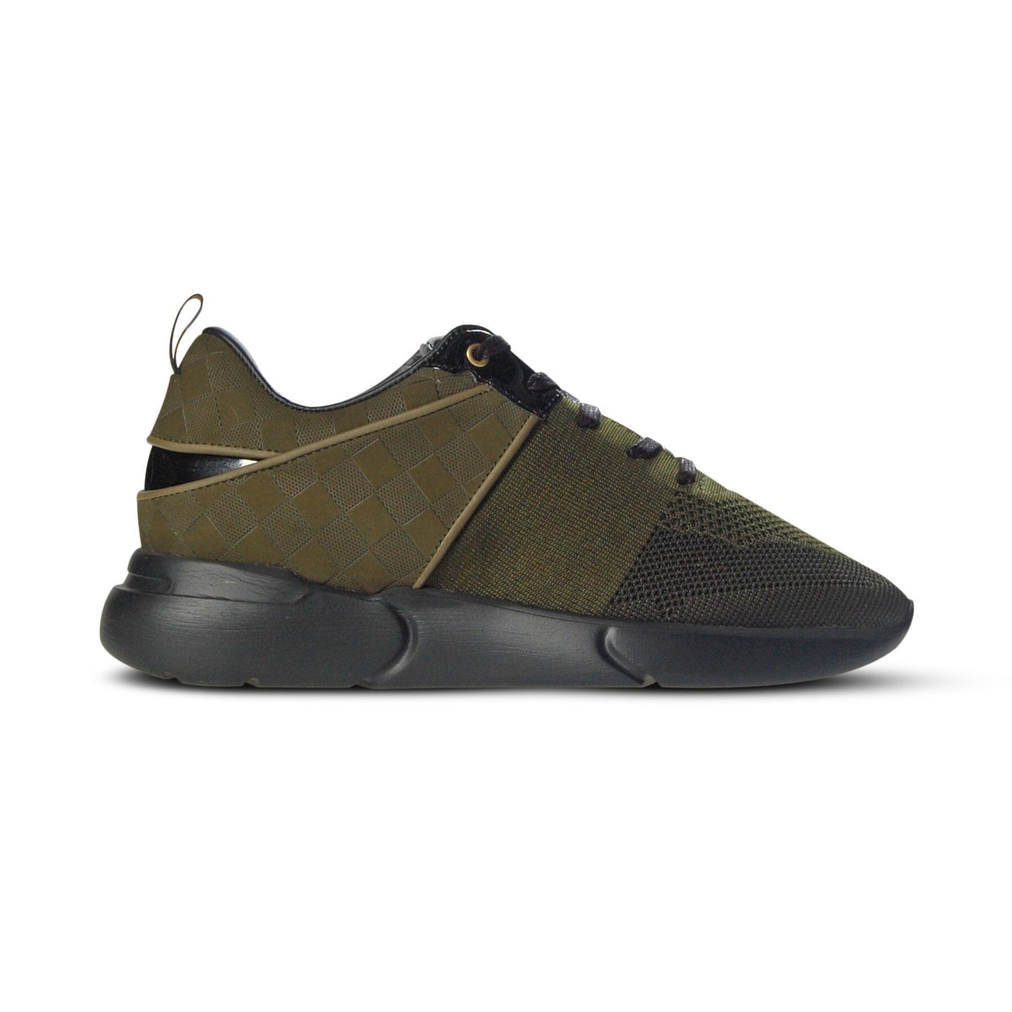Mercer Amsterdam Wooster Evo Trainers Olive
