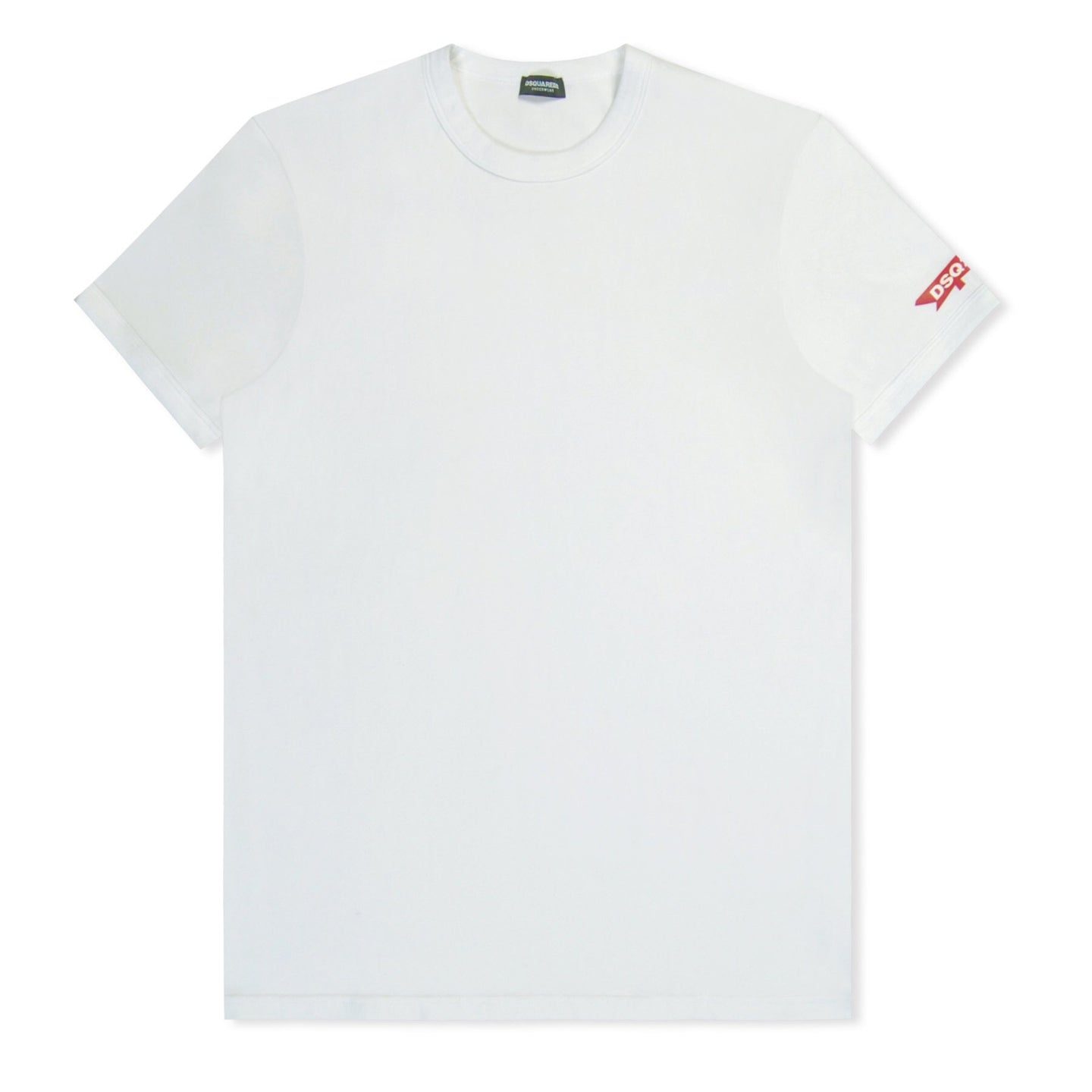 White Dsquared2 Maple Sleeve T-Shirt