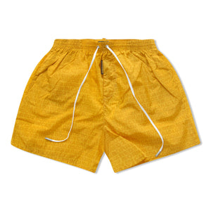 Dsquared2 Basics Logo Swim Shorts - Yellow