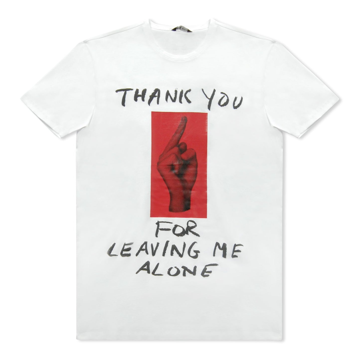 White Antony Morato Thank You For Leaving Me T-Shirt