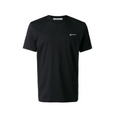 Black Givenchy Signature Embroidered T-Shirt