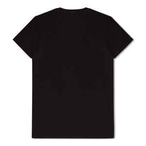 Black Zegna Basics Plain T-Shirt