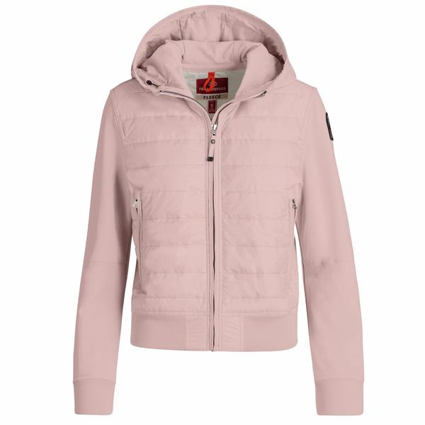 Woman Powder Pink PJS Caelie Jacket
