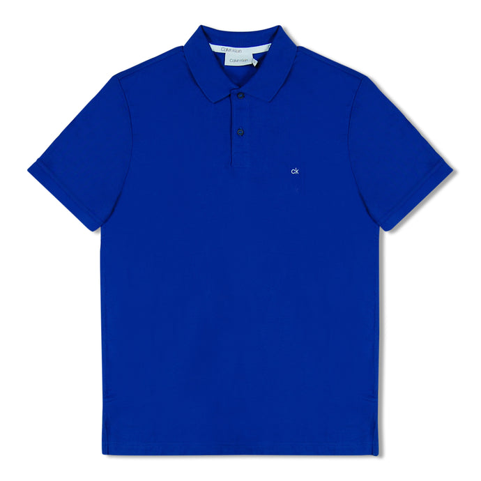 Royal Blue Calvin Klein Chest Logo Polo
