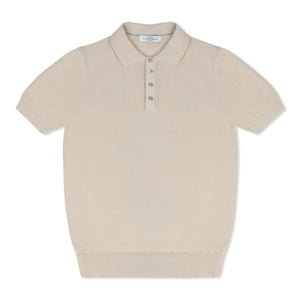 Stone Untitled Atelier Knitted SS Polo