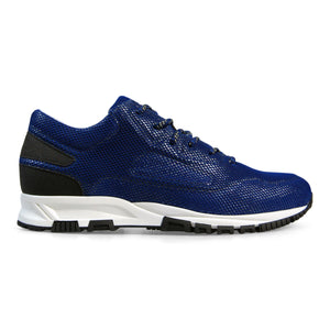 Electric Blue Lanvin Mesh Runners
