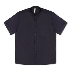 Navy Antony Morato Button Down SS Shirt