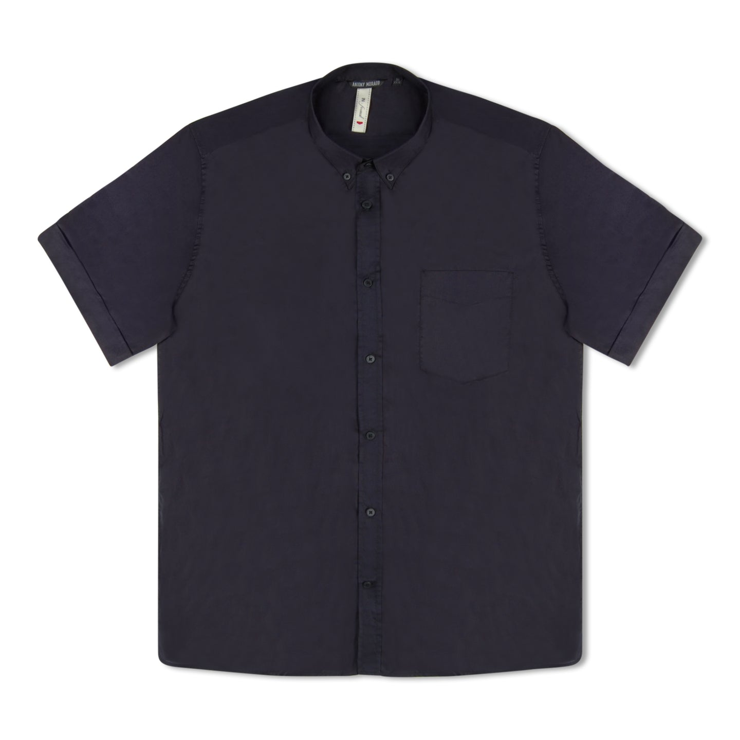 Antony Morato Button Down SS Shirt - Navy