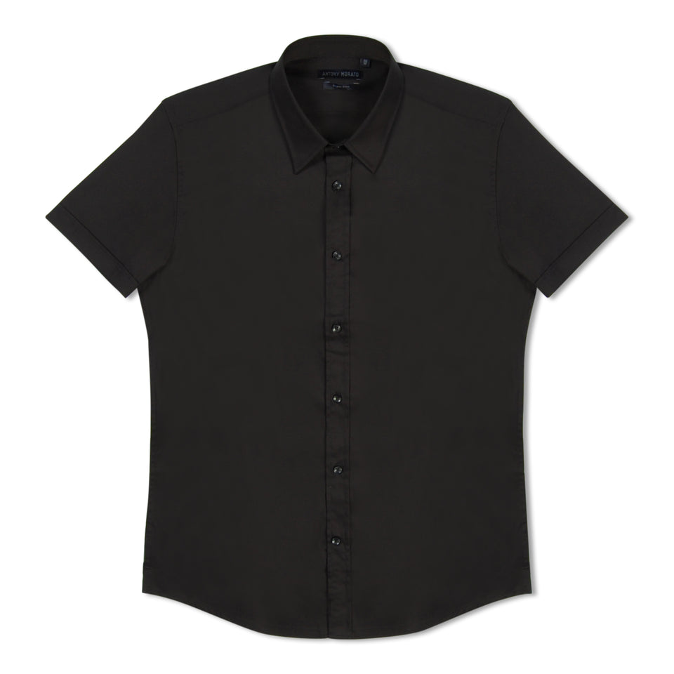 Antony Morato Super Slim SS Shirt - Black