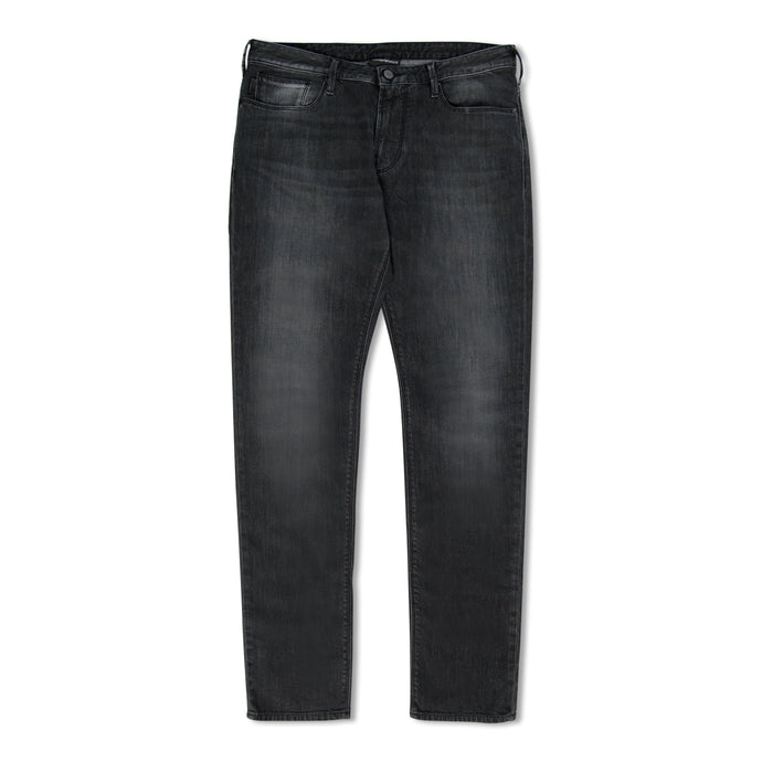 Grey Emporio Armani J06 Stretch Slim Jeans
