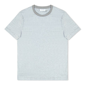Grey Calvin Klein Mens Stripe T-Shirt
