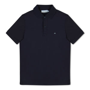 Navy Blue Calvin Klein Chest Logo Polo