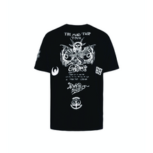 Black Givenchy Mad Trip World Tour T-Shirt