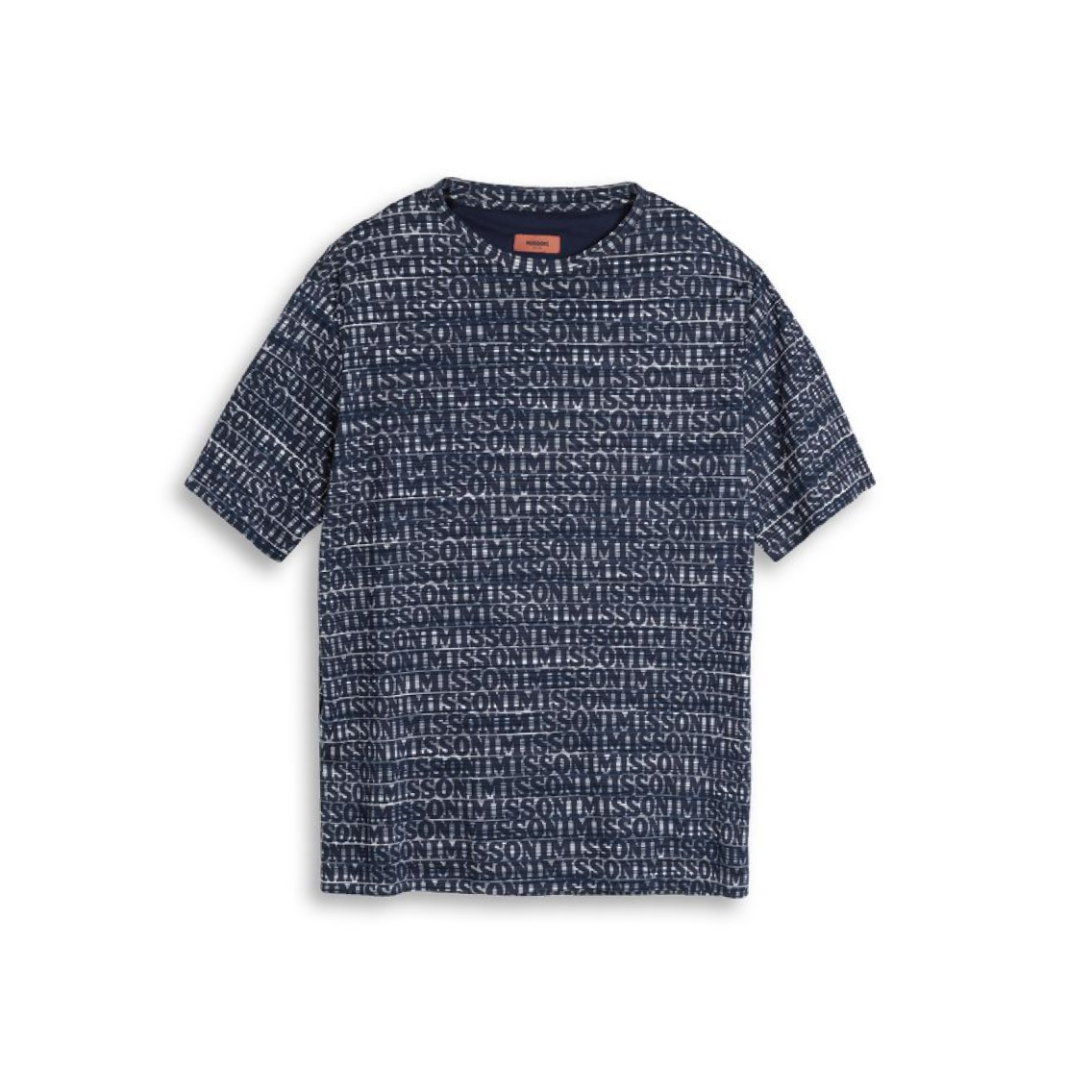 Navy Missoni Logo T-Shirt