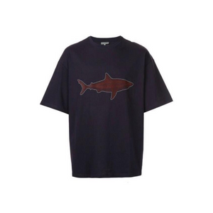 Purple Lanvin Oversized Shark T-Shirt